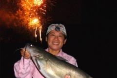 Michelle-catfish-fireworks
